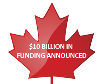 The Canadian federal government has announced $10 billion in funding to help businesses cope with the impact of covid-19