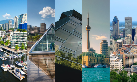 Five Best Canadian Cities for Startups